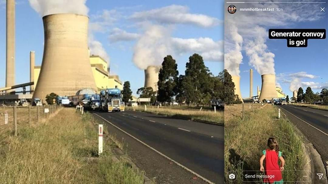 Article heading image for Vic Roads Warns Of Traffic Delays As Aeroplane-Sized Generator Travels To Port Melbourne