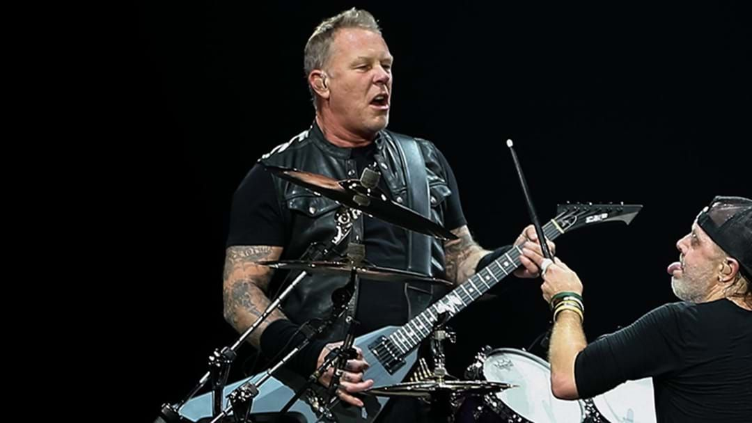 Article heading image for James Hetfield Says New Metallica Music Is Coming Later Today