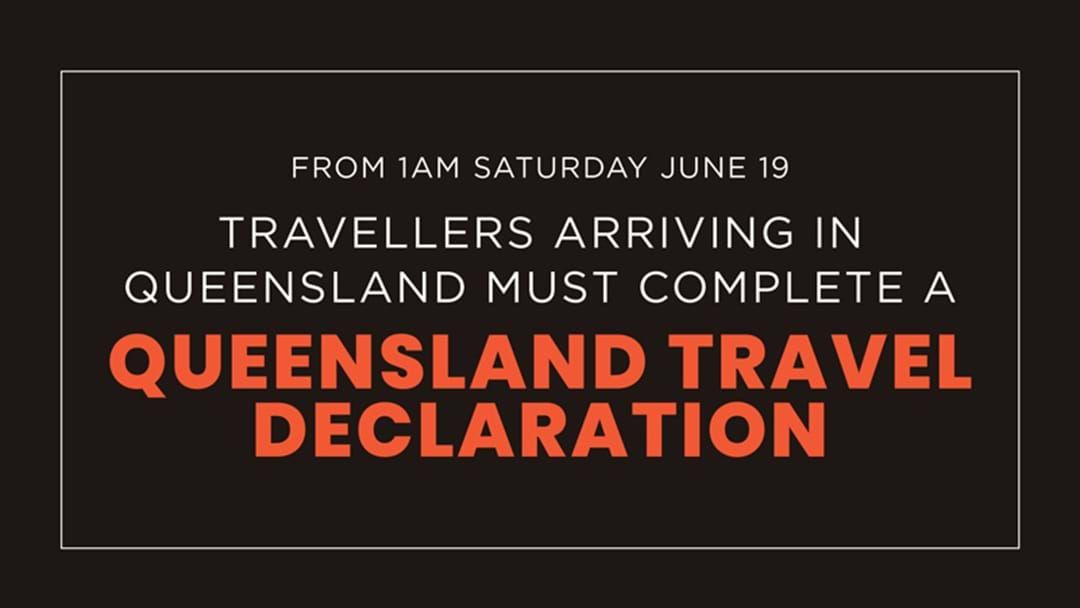 Article heading image for Queensland's New Border Pass System To Come Into Effect From Saturday