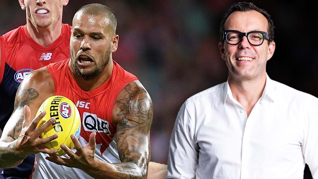 Article heading image for Damian Barrett Addresses Reports Suggesting Lance Franklin Should Be Traded