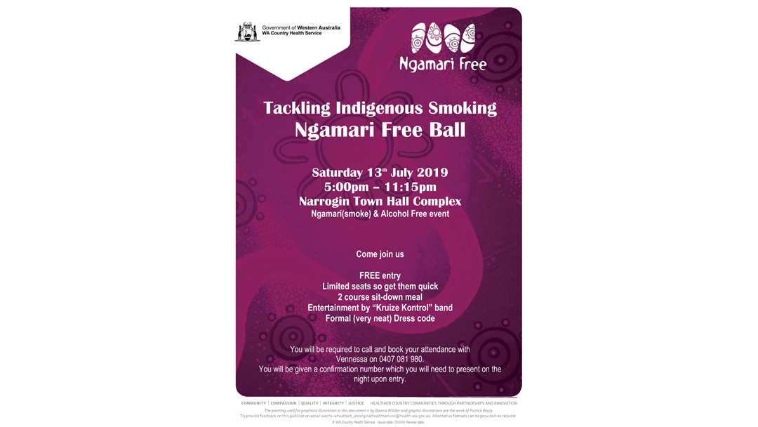 Article heading image for Tackling Indigenous Smoking Ngamari Ball