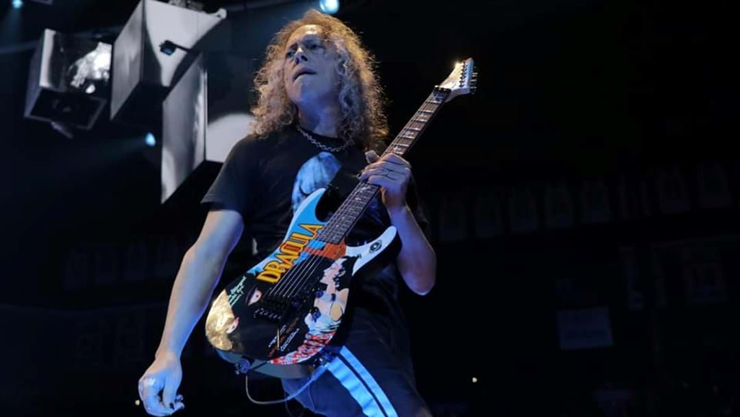 Article heading image for Members Of Metallica Are Covering Your Favourite Rock Songs In New All-Star Band