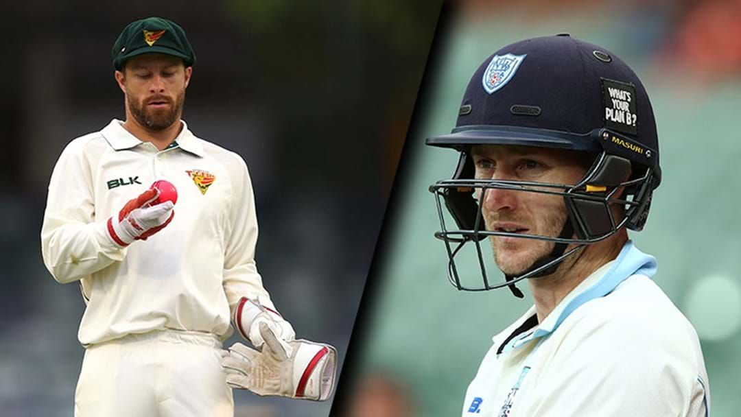 Article heading image for Matthew Wade And Peter Nevill Both Failed In The Sheffield Shield Again Today