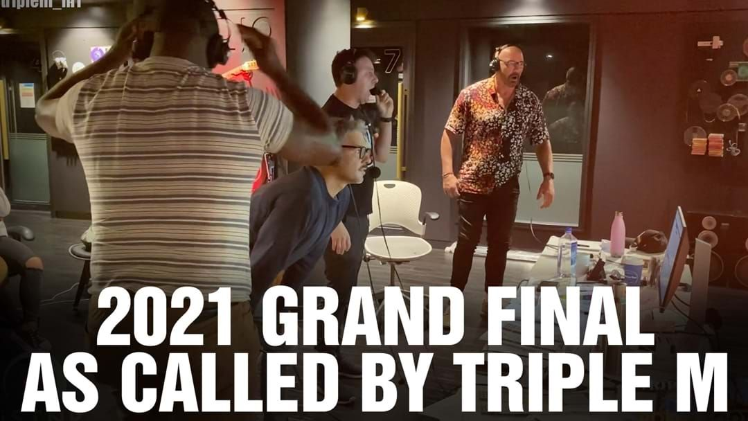 Article heading image for Here's How Triple M Called The Big Moments From The 2021 NRL Grand Final