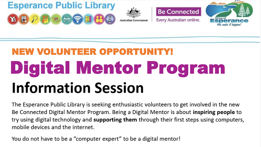 Article heading image for Digital Mentors WANTED for Special Program