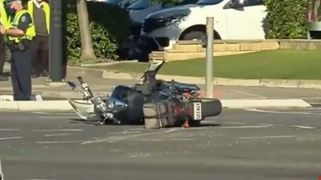 Article heading image for Police Investigate Campbelltown Crash Injuring A Motorcyclist & His Passenger