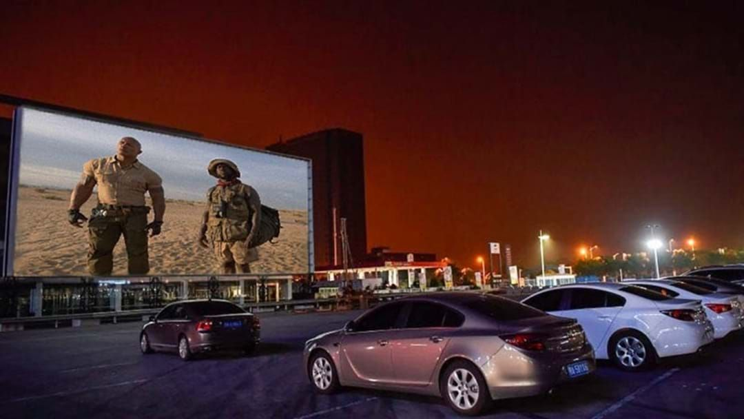 Article heading image for A New Drive-In Cinema Has Popped Up At The Entertainment Quarter!