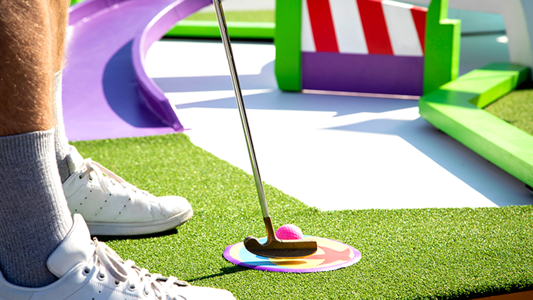 Article heading image for Melbourne Is Getting An OFFICIAL Pixar Putt Putt Course