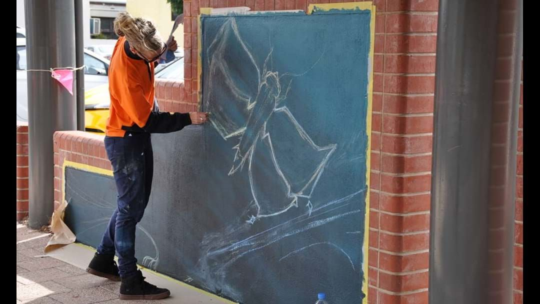 Article heading image for The blank walls on James Street are being transformed