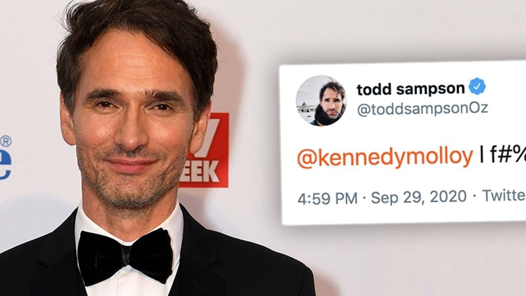 Article heading image for Todd Sampson Stitches Everyone Up And Drops Another F-Bomb!