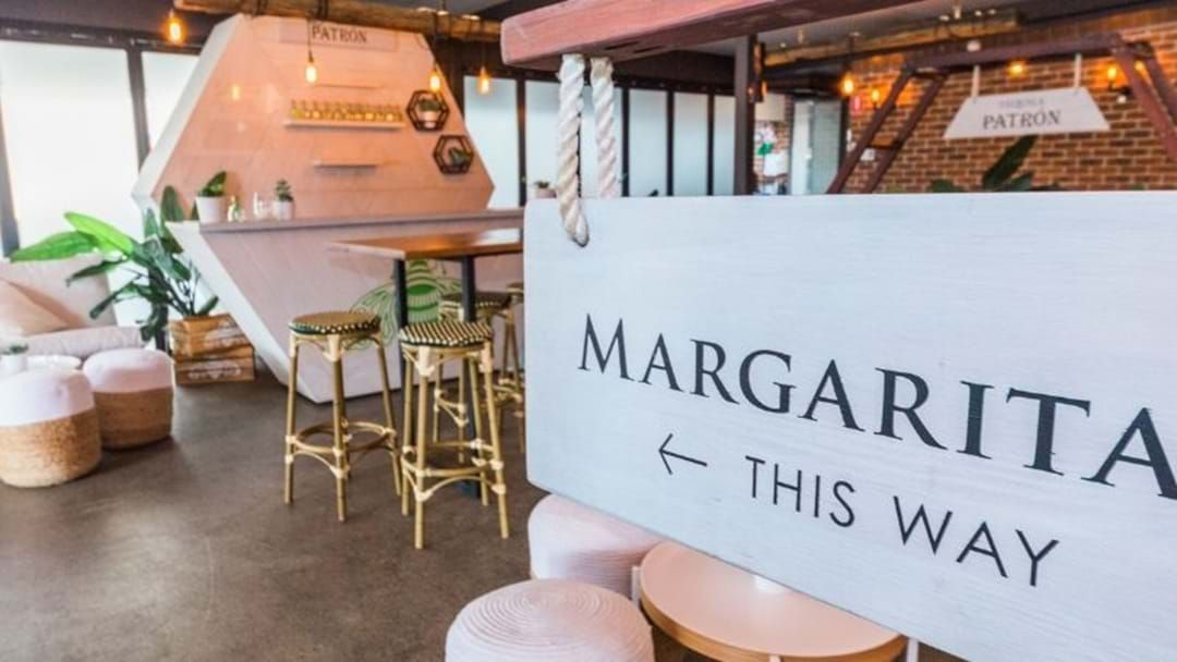 Article heading image for A Luxe Patron Pop-Up Bar Has Just Opened At The Collective!