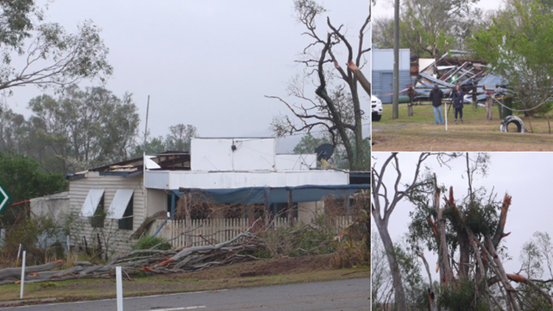 Article heading image for Clean-up Continues after South Burnett Was Hit Hard by Storms