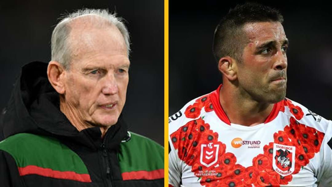 Article heading image for MG Reacts To Wayne Bennett & Paul Vaughan's COVID Breaches