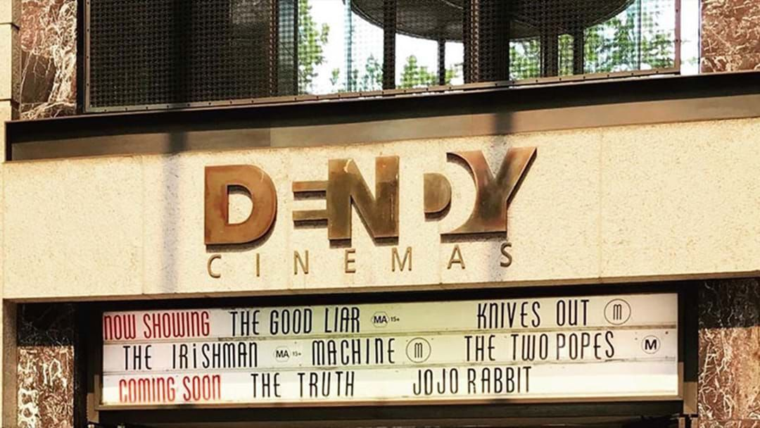 Article heading image for Circular Quay's Dendy Cinema Is Closing After 20 Years!