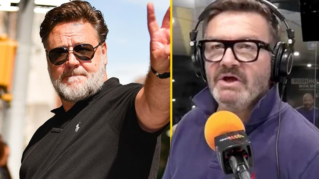 Article heading image for Lawrence Mooney Absolutely Nails A Russell Crowe Impression!