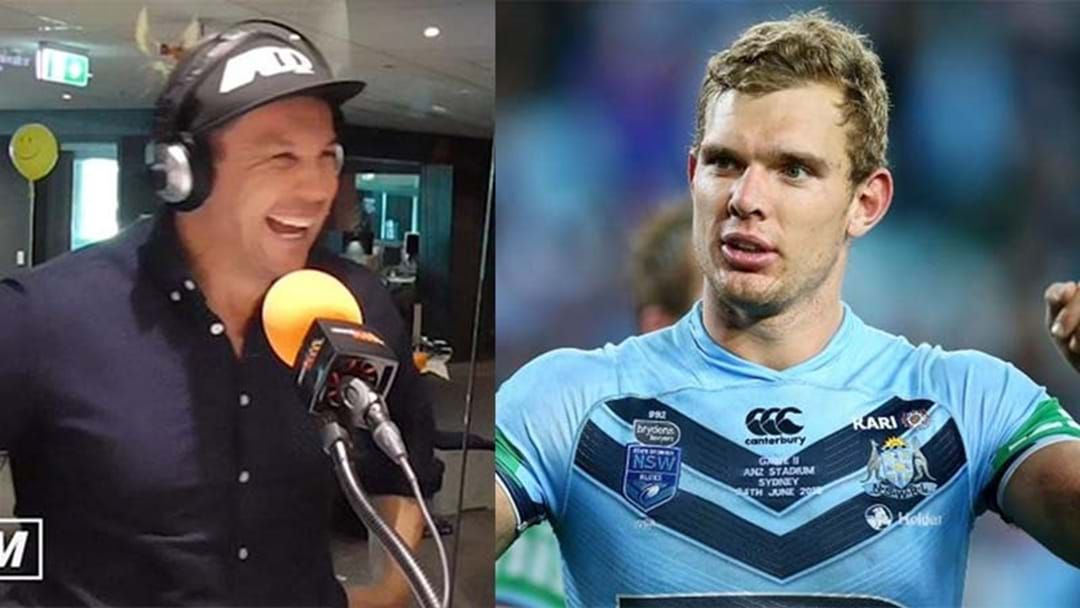 Article heading image for Tom Trbojevic's Epic Burn On Matty Johns With This Zinger Following The Origin Series Win