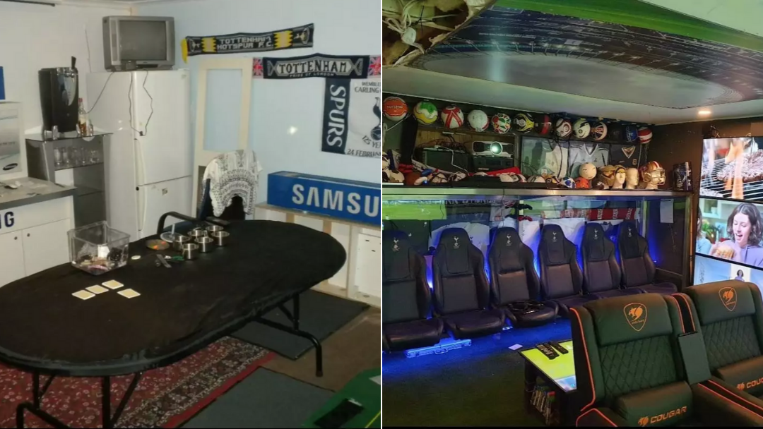 Article heading image for Sydney Footy Fan Transformed His Garage Into A $35,000 Man Cave And It's Bloody Beautiful