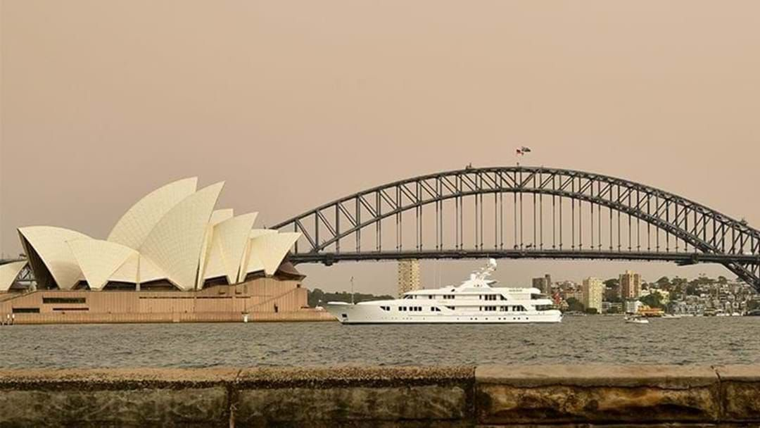 Article heading image for Dust Cloud Hanging Over Sydney Expected To Clear This Afternoon