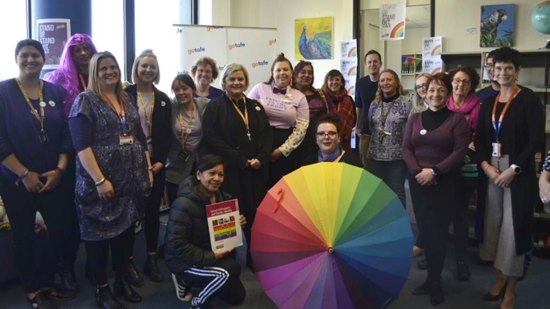 Article heading image for GOTAFE Wins LGBTQI+ Pride Award