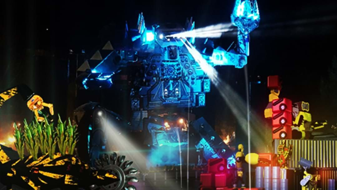 Article heading image for A Robot SPACELand Is Taking Over Darling Harbour For Vivid