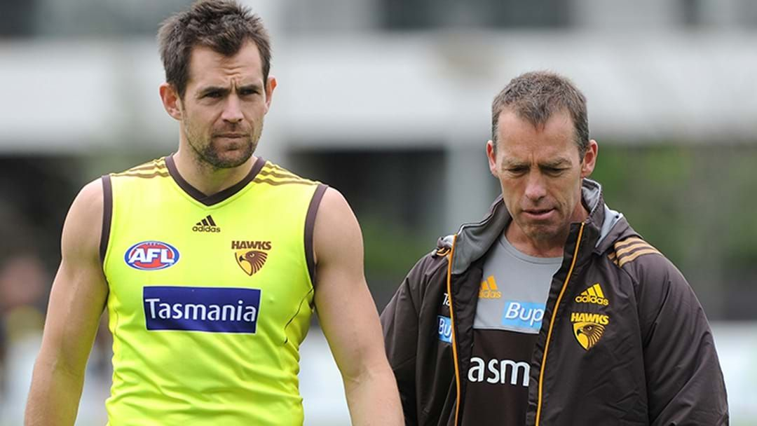 Article heading image for Luke Hodge Reveals The Moment Alastair Clarkson Started The No Long Sleeve Policy