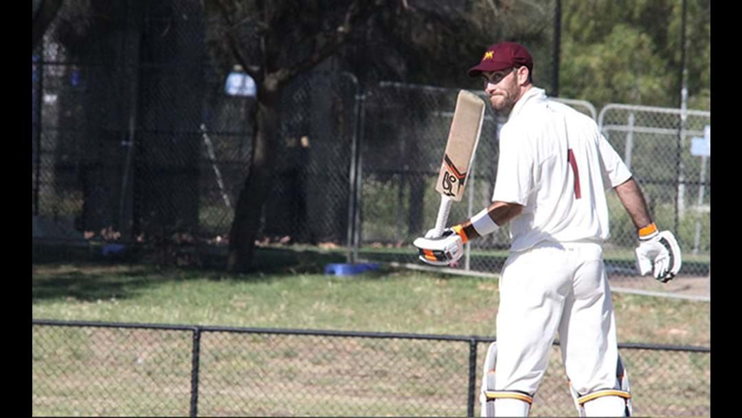 Article heading image for Glenn Maxwell Dominates The Second Day Of A Local Cricket Match