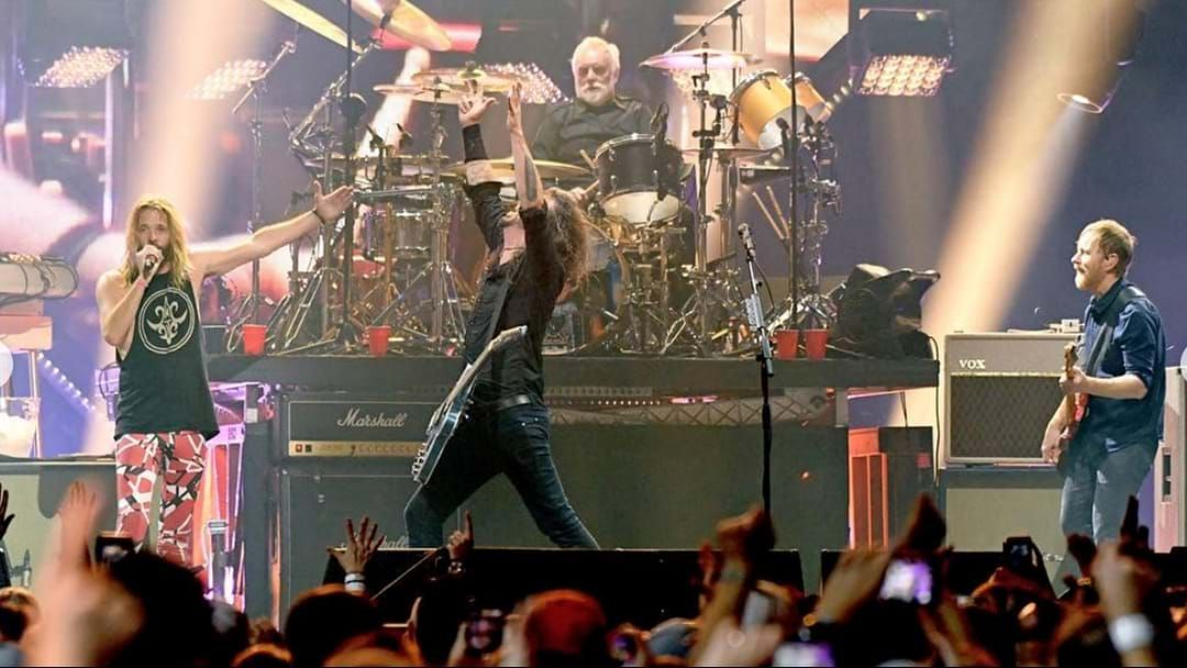 Article heading image for Foo Fighters Just Stole The Super Bowl Show From Maroon 5 Before Super Bowl Has Even Begun