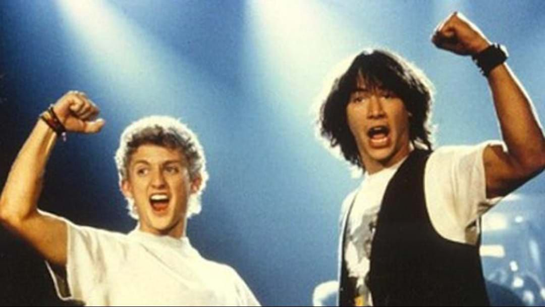 Article heading image for Keanu Reeves Confirms Bill And Ted Are Going On Another Excellent Adventure