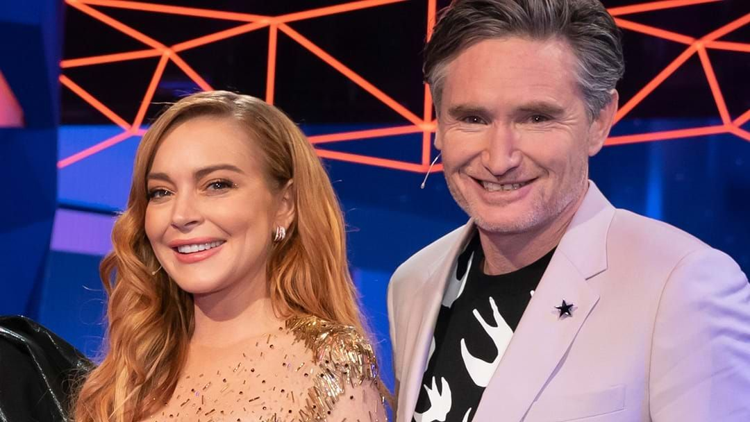 Article heading image for Hughesy Confirms Lindsay Lohan Will Return To The Masked Singer's Second Season