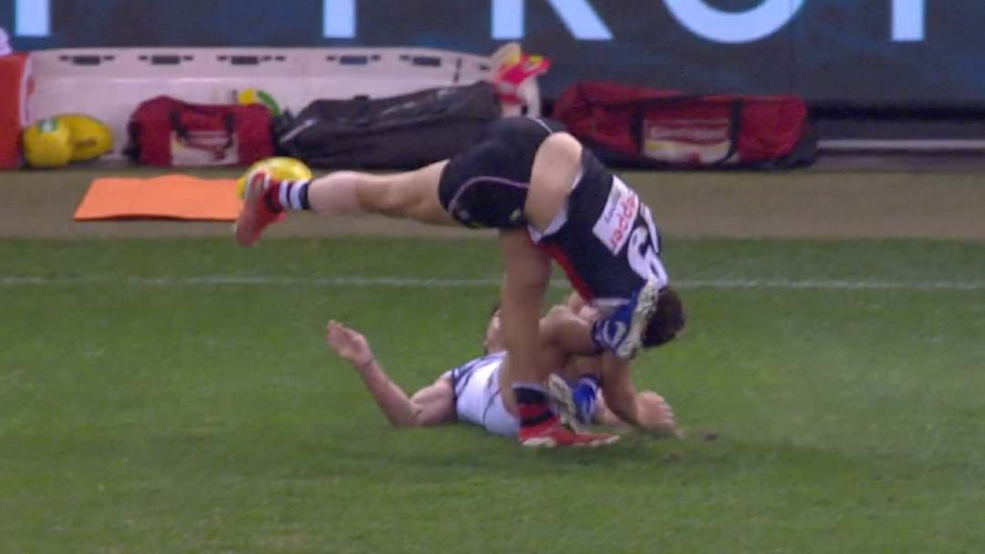 Article heading image for Rowan Marshall Has Left The Ground Injured