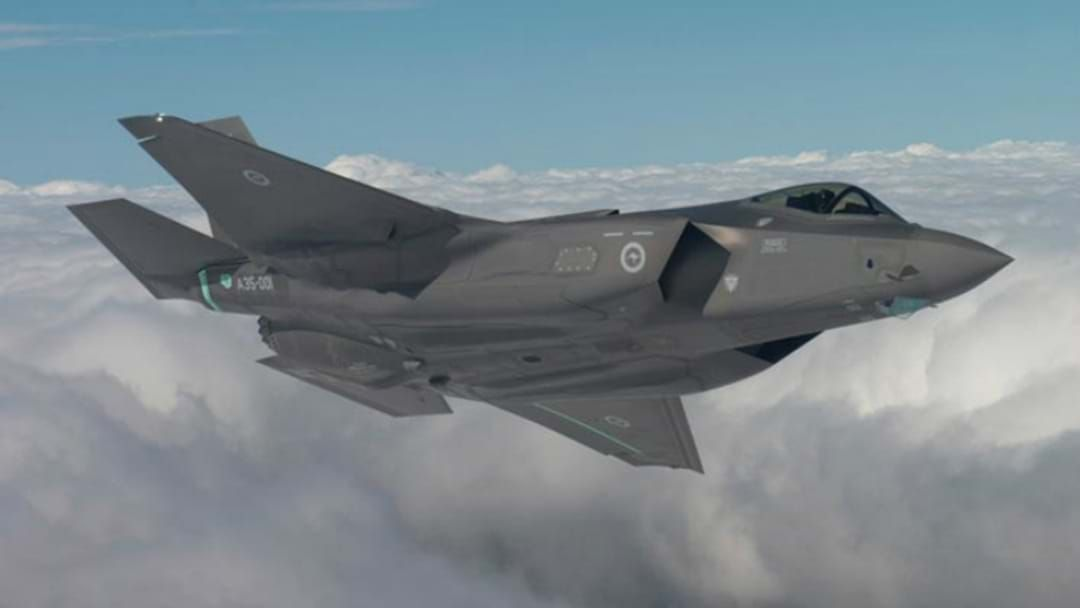 Article heading image for HUNTER FLYPAST: Where To See The Joint Strike Fighters