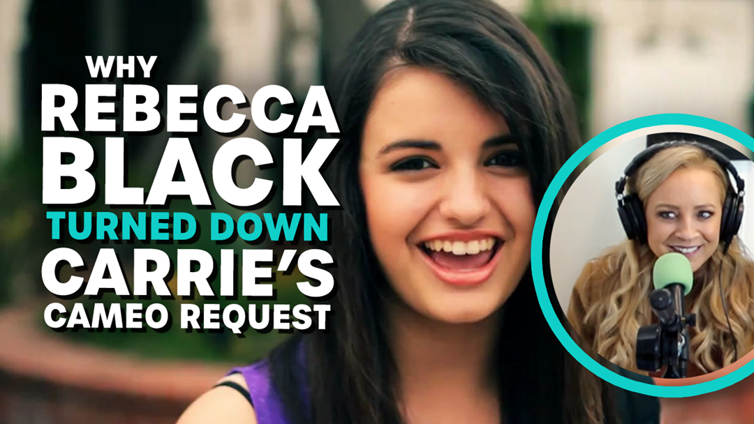 Article heading image for Why Rebecca Black Turned Down Carrie's Cameo Request