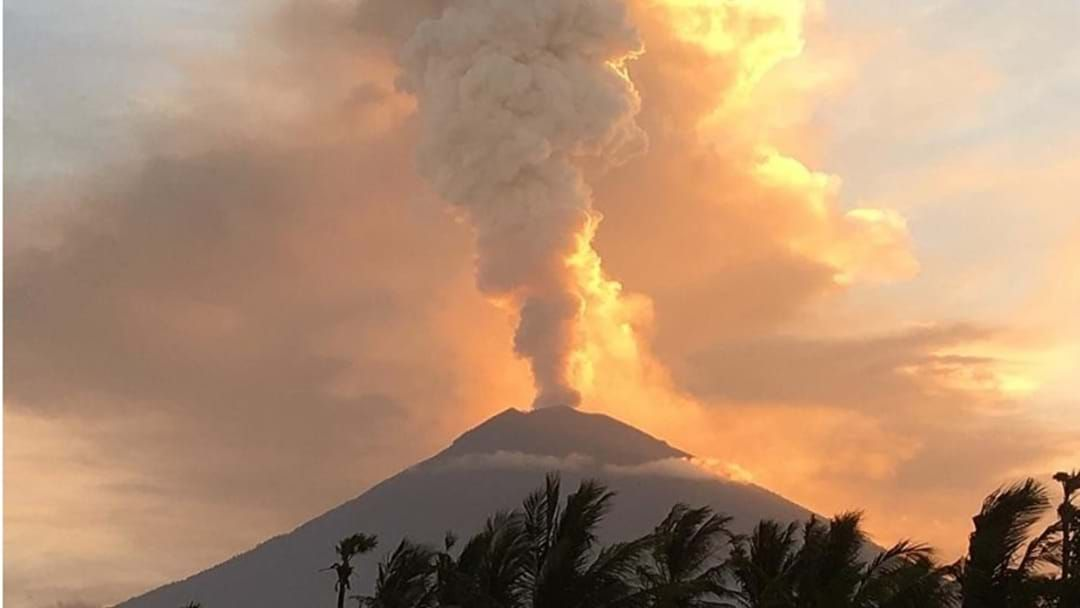 Article heading image for Bali Holiday Plans And Flights In Chaos After Mount Agung Erupts, Again