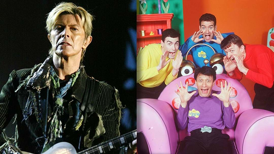 Article heading image for LISTEN | Did The Wiggles Pinch A Song Off David Bowie?