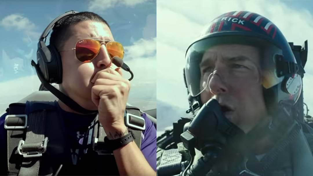 Article heading image for The Behind-The-Scenes Of Tom Cruise Flying In The Fighter Jet For Top Gun May Make You Spew