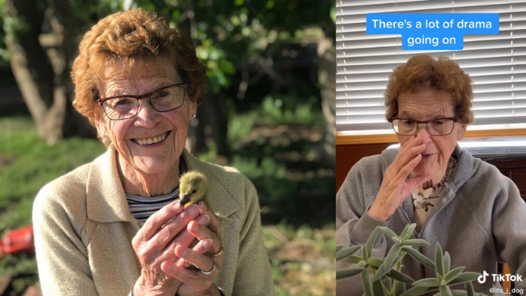 Article heading image for 88-year-old Finds Fame on Tik Tok App