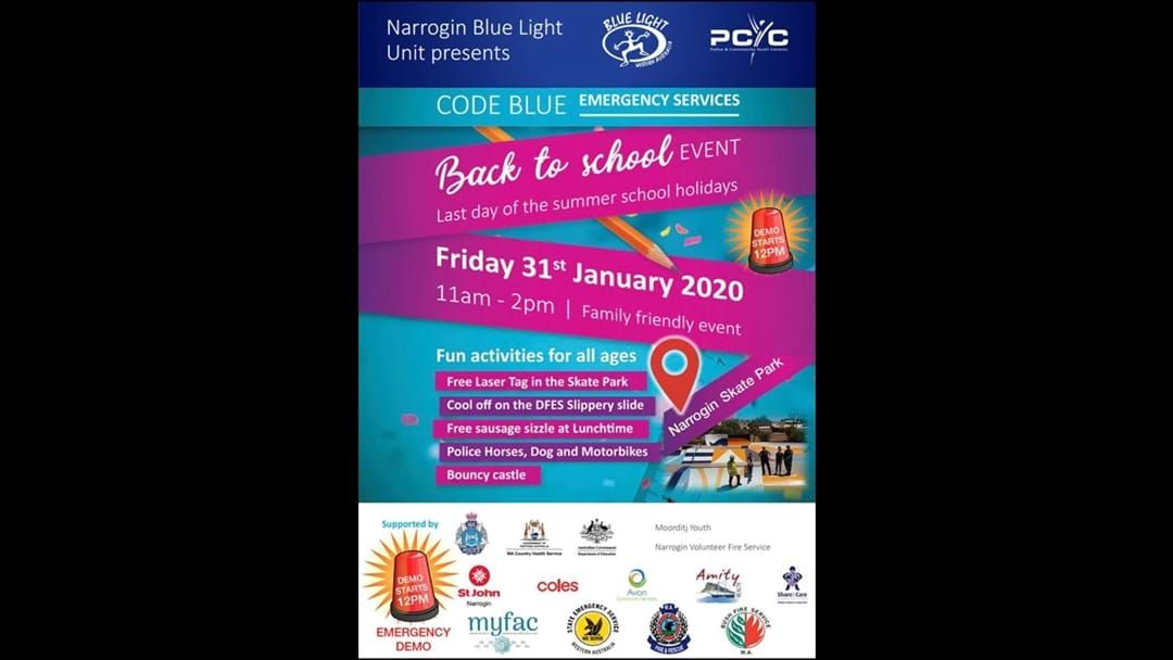 Article heading image for Narrogin Police Back To School Event