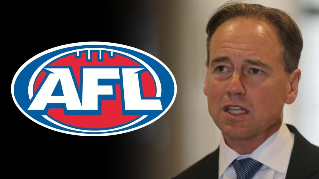 Article heading image for Health Minister Greg Hunt On Consulting The AFL To Play This Weekend
