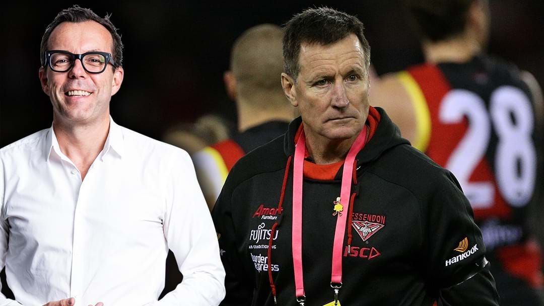 Article heading image for Barrett: Worsfold Will Be Gone In 2020 If Essendon Lose Badly In The Last Two Games