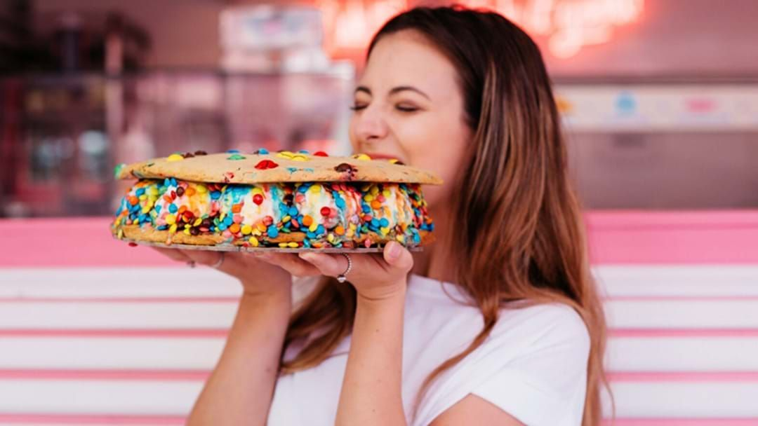 Article heading image for You Need To Grab This Whopper Ice Cream Sandwich In Brisbane Today!
