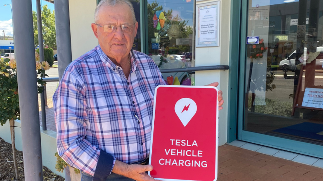 Article heading image for Griffith To Provide Tesla Charging Stations