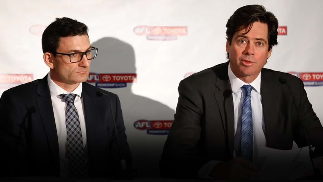 Article heading image for Tom Browne Reveals Gillon McLachlan's Potential Successor
