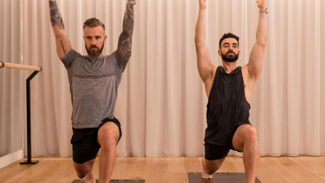 Article heading image for Get Your Man Around The New Craze 'Broga'