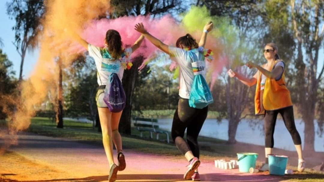 Article heading image for The Most Colourful Run Of The Year Is Speeding Into Rockhampton This March