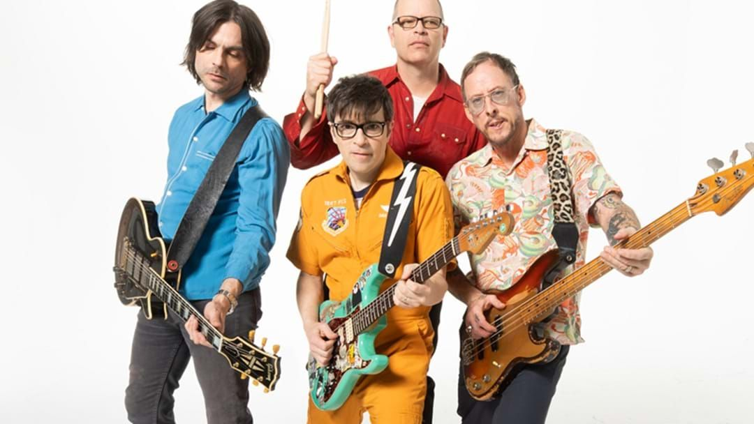Article heading image for WATCH: Weezer's Rocking Tribute To Frontline Heroes