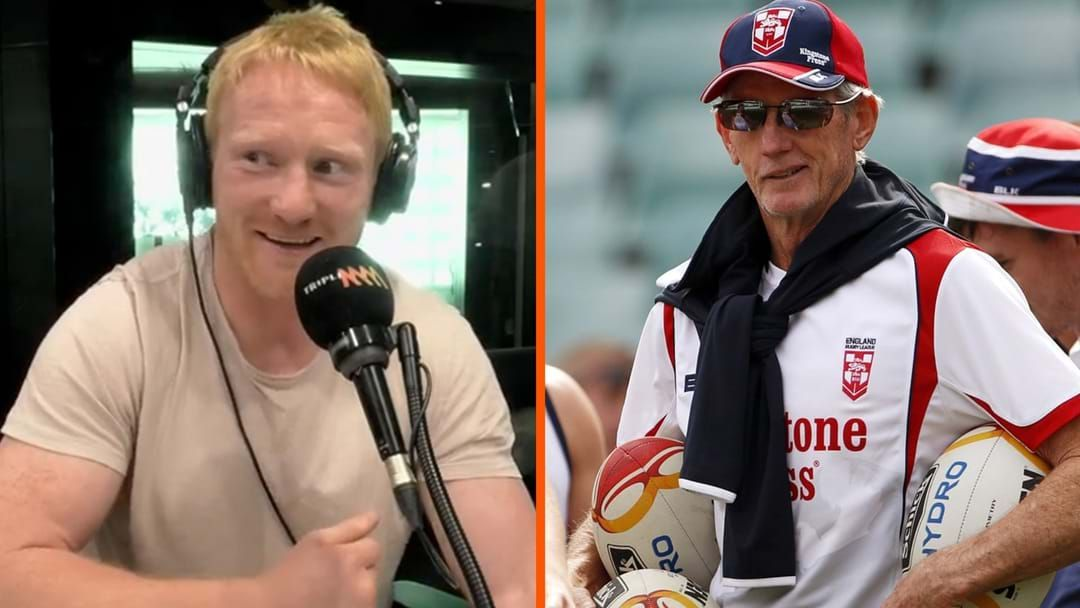 Article heading image for Story Time | The Day James Graham Pranked Wayne Bennett With Tabasco Sauce