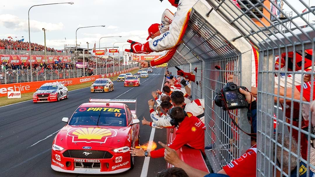 Article heading image for McLaughlin Remains Bathurst Champion, Team Heavily Fined