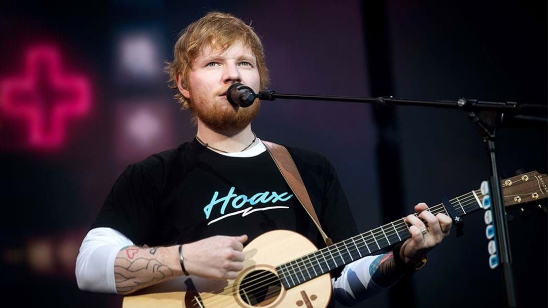 Article heading image for Ed Sheeran Is Bringing Back The Sexy Mullet In His New Music Video