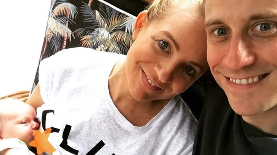 Article heading image for Carrie Bickmore Gets Real About The Joys & Struggles Of Life With A Newborn