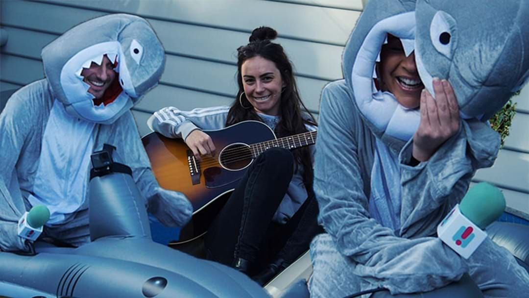 "Article heading image for Amy Shark Performs 'Mess Her Up"" LIVE From Carrie's Pool!"